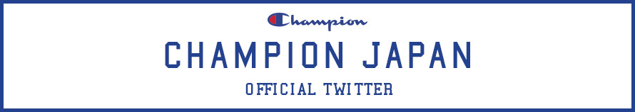 CHAMPION JAPAN official twitter